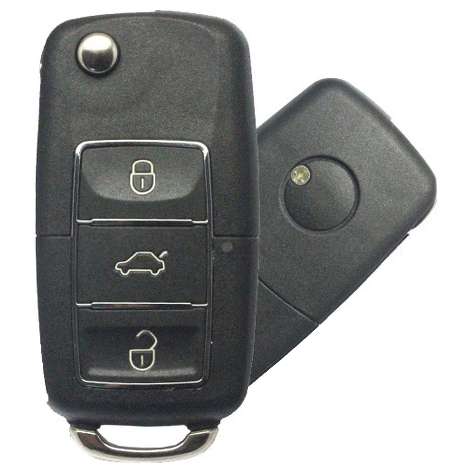 KYDZ Volkswagen B5 Type Remote Key 3 Brard - Pack of 5