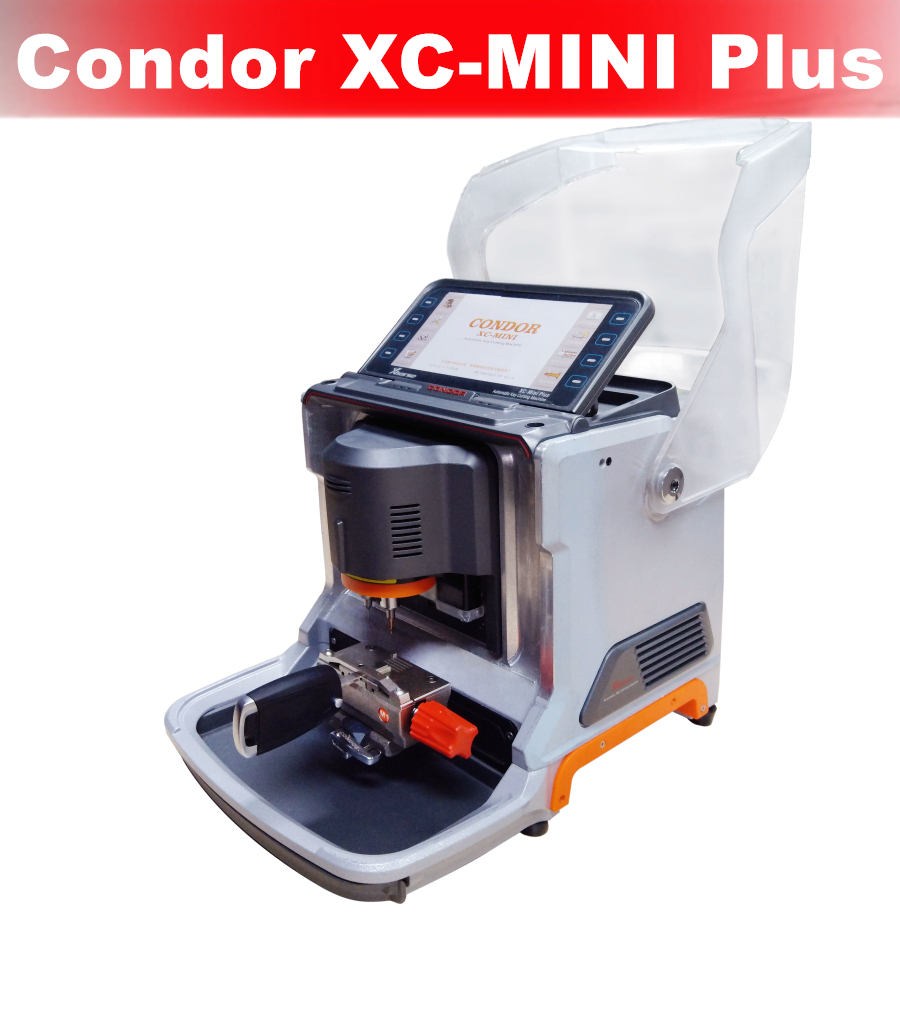English Version Condor Mini Plus Key Cutting Machine - with 3 Years Warranty