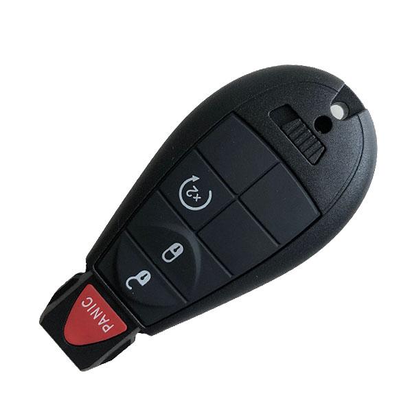 434 MHz 7 Buttons Remote Fobik Key for Chrysler / Dodge / VW 2008-2016 - M3N5WY783X