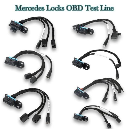 Mercedes All EZS Bench Test Cable for W209/W211/W906/W169/W208/W202/W210/W639 Works with VVDI MB Tool