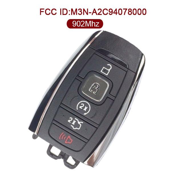 AK029003 for 2017 Lincoln Smart Key 5 Button 902MHz M3N-A2C94078000 164-R8154