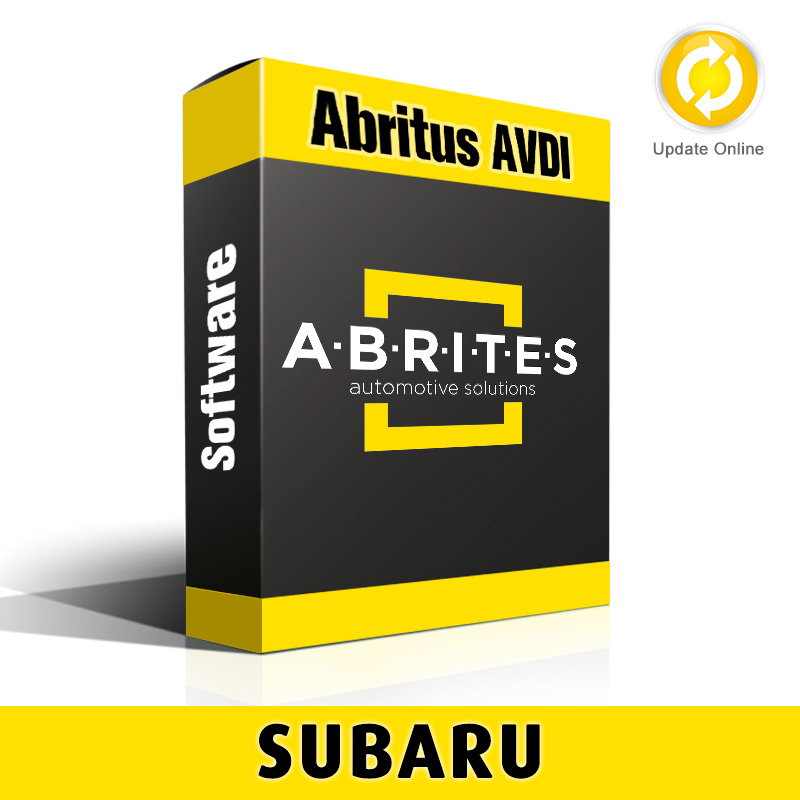 SB001 Subaru Key Learning and Smart System Reset Software for Abritus AVDI