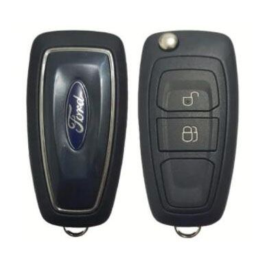 2 Buttons Remote Key Shell for Ford - Pack of 5