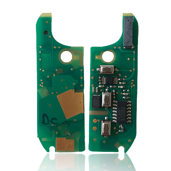 Fiat Ducato Remote Key PCB 3 Buttons 433MHz Magneti Marelli Type PCF7946 High Quality