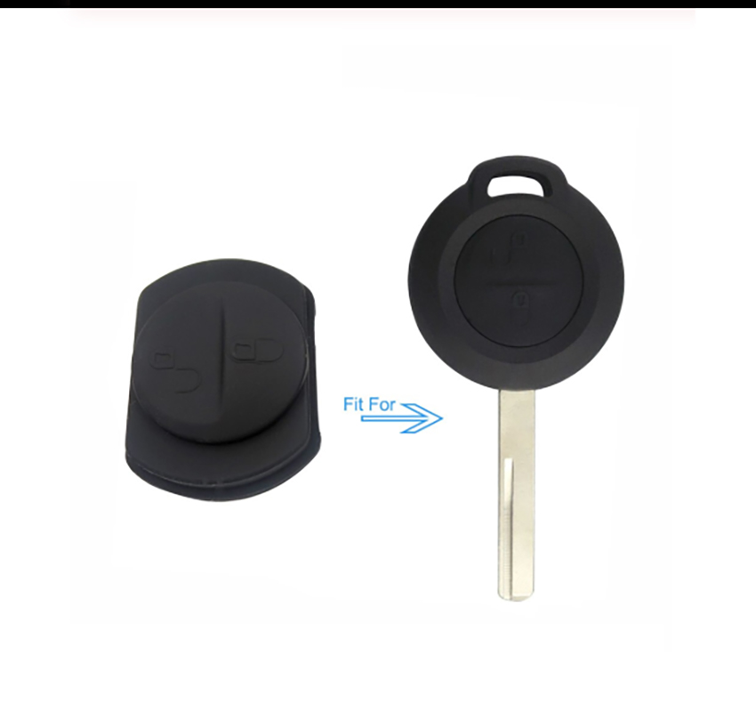 2 Buttons Rubber Pad For Mitsubishi 10 pcs