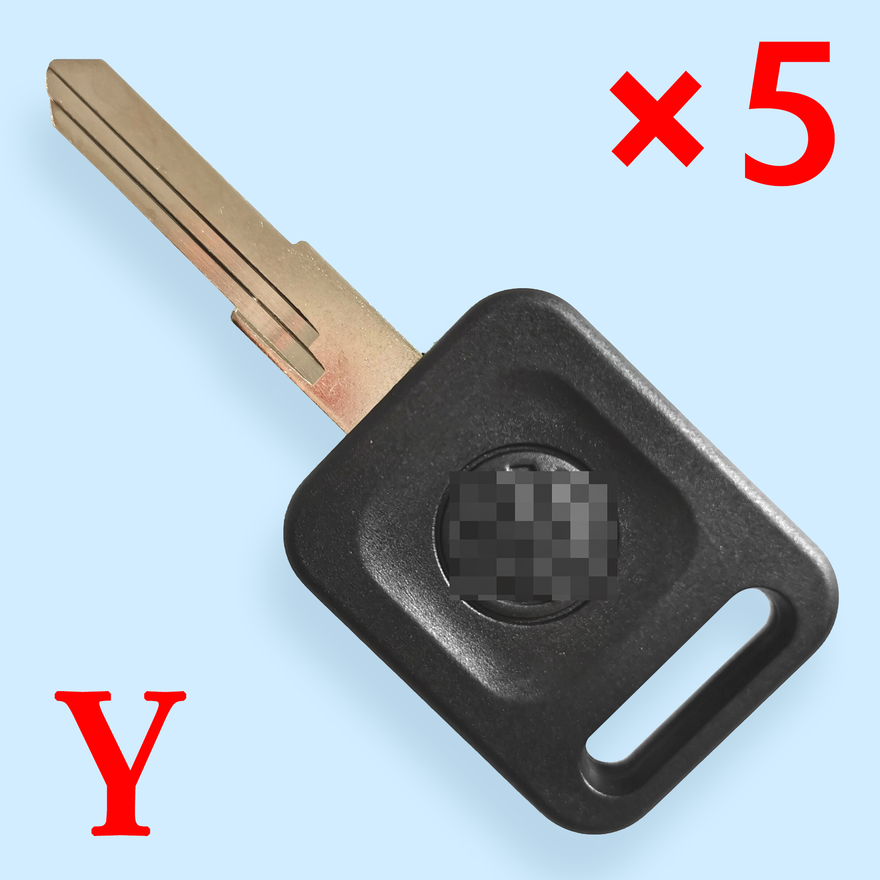 Transponder Key Shell for VW - Pack of 5