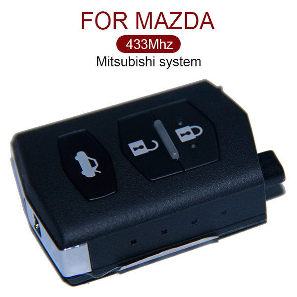 AK026022 3 Button Remote Key 433MHz Mitsubishi System for Mazda
