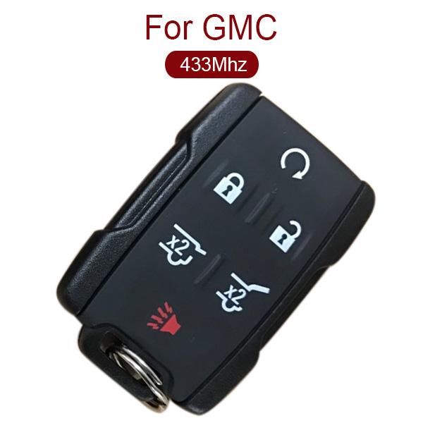 AK019016 for GMC Smart Remote Key 5+1 Button 433MHz