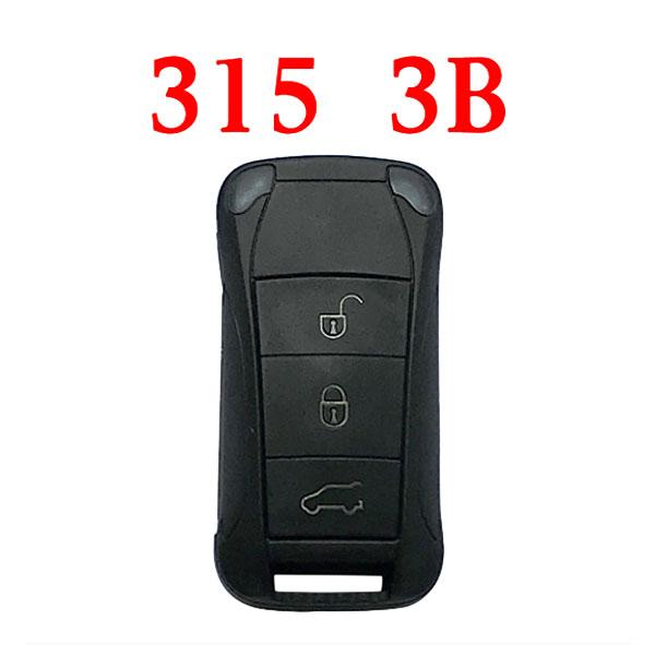 3 Buttons 315 MHz Flip Remote Key for Porsche Cayenne