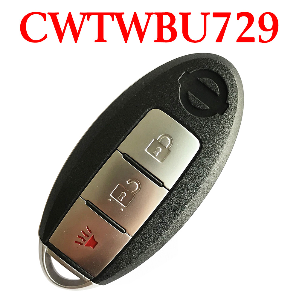 315 MHz 2+1 Buttons Smart Proximity Key for Nissan 2007-2013 Pathfinder Rouge Versa - CWTWBU729 / 624 / 735