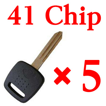 Transponder key for Nissan with 41 chip 5 pcs