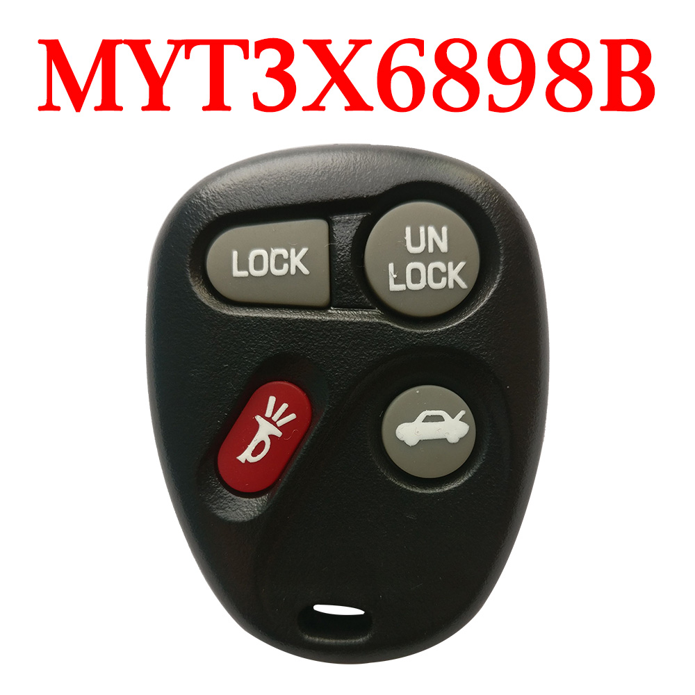 3+1 Buttons 315 MHz Remote Control for Chevrolet GMC Buick - MYT3X6898B