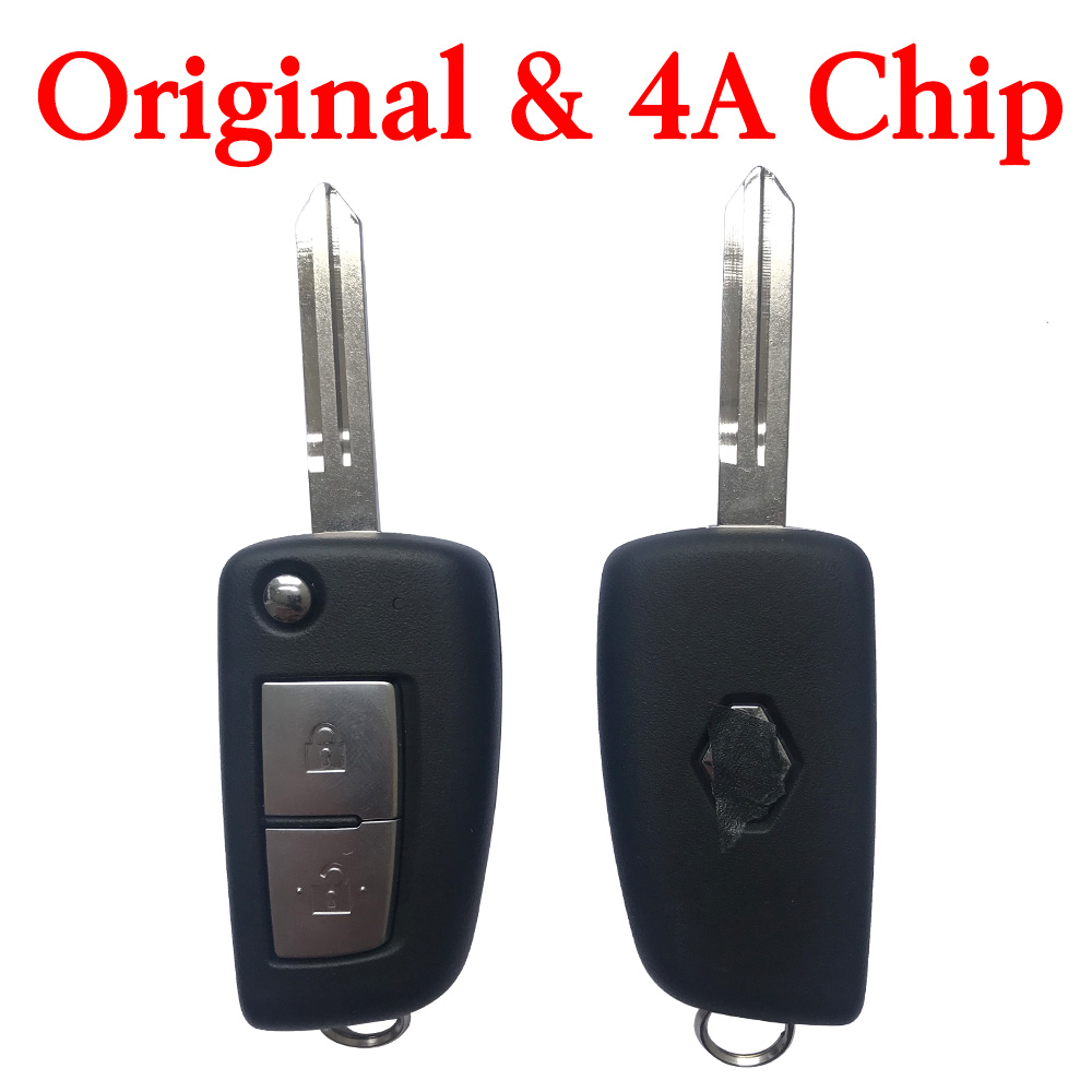 Original 434 MHz Flip Remote Key for Renault - CWTWB1G767 (4A Chip)