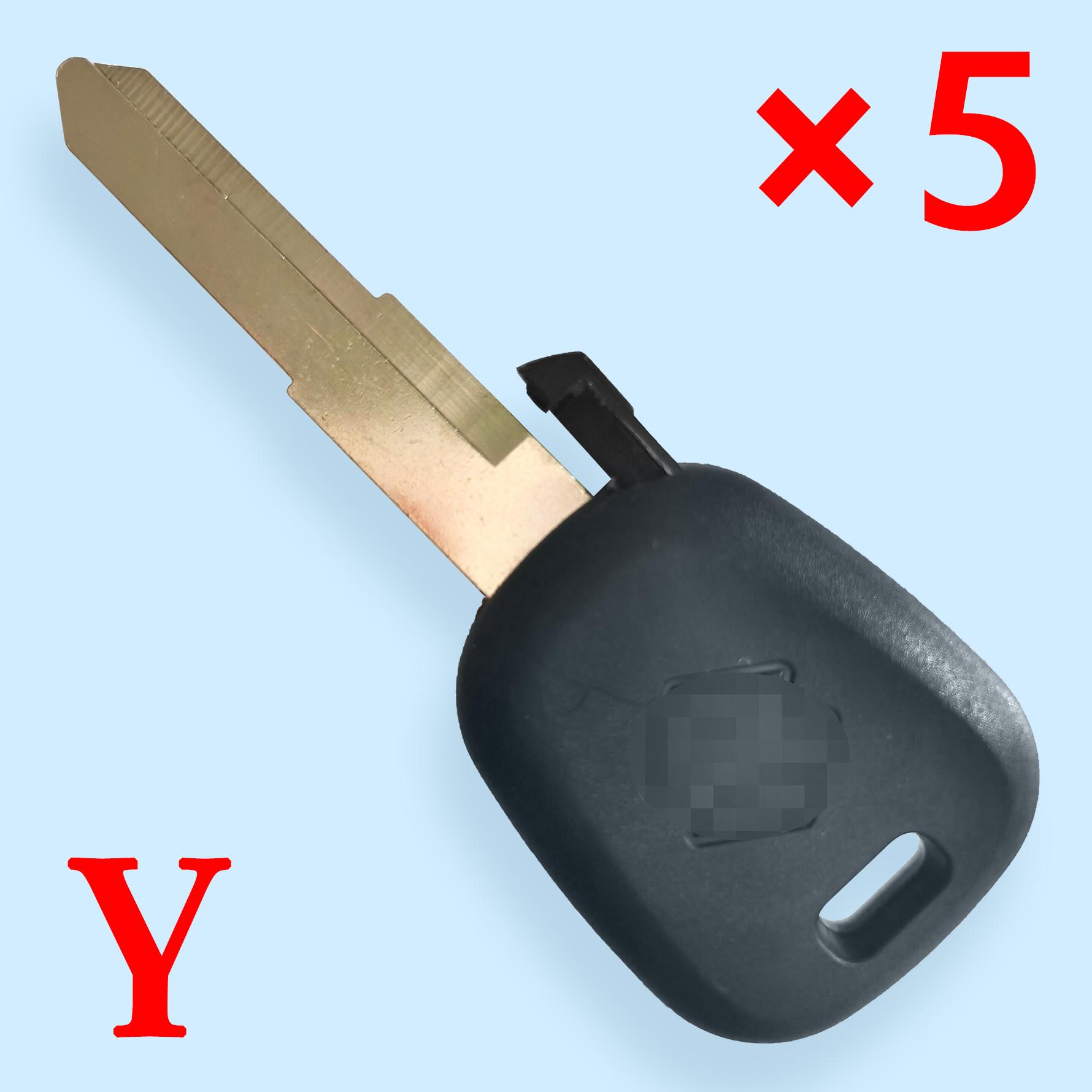 Transponder Key Shell for Suzuki - Pack of 5