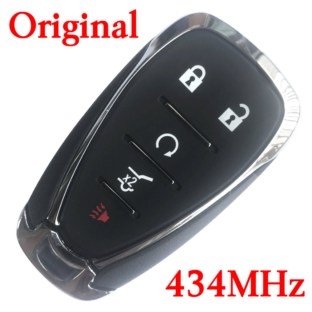 Original 5 Buttons 434 MHz Smart Proximity Key for 2018-2019 Chevrolet Traverse - HYQ4EA