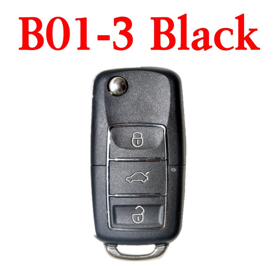 KEYDIY B01-3 Luxury Black Universal Remote Control -5 pcs