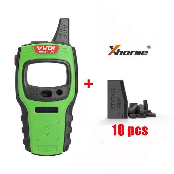 Xhorse VVDI Mini Key Tool EU/NA/SA with 10Pcs VVDI Super Chip Transponder