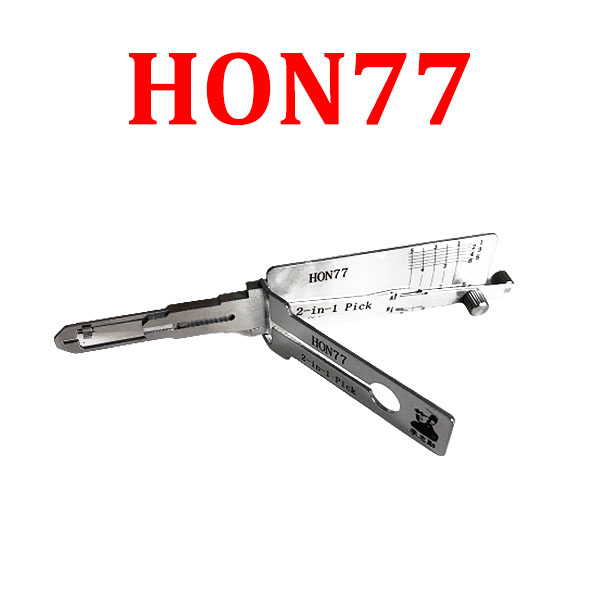 Original Lishi Honda Motorbike HON77 HS 2-in-1 Pick/Decoder