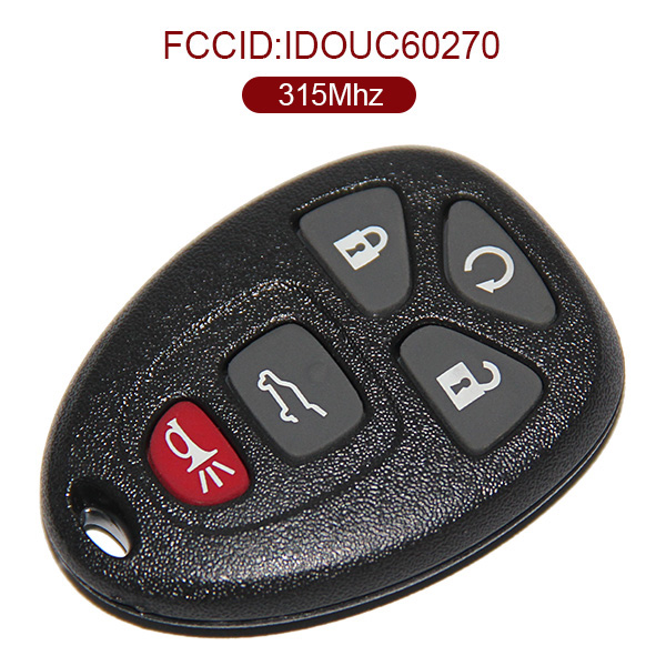 AK013010 for Buick 5 Button Remote Key 315MHz OUC60270