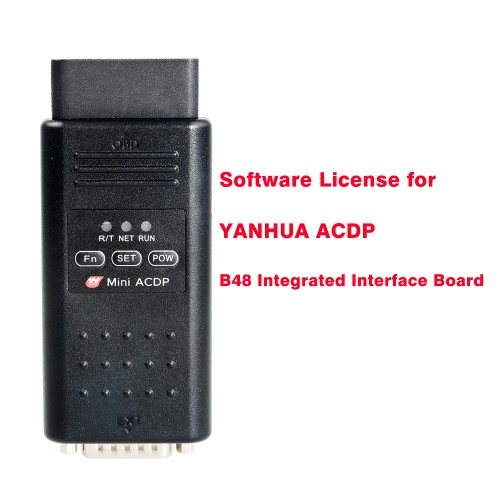 Software License Activation Service for YanHua MINI ACDP to Read B48 / MSV90 ISN by OBD