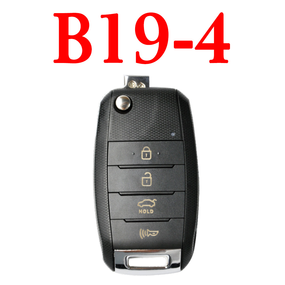 KEYDIY B19-4 KD Remote control - 5 pcs