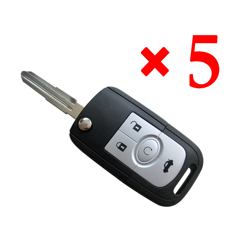 4 Button Key Shell for Buick 5pcs