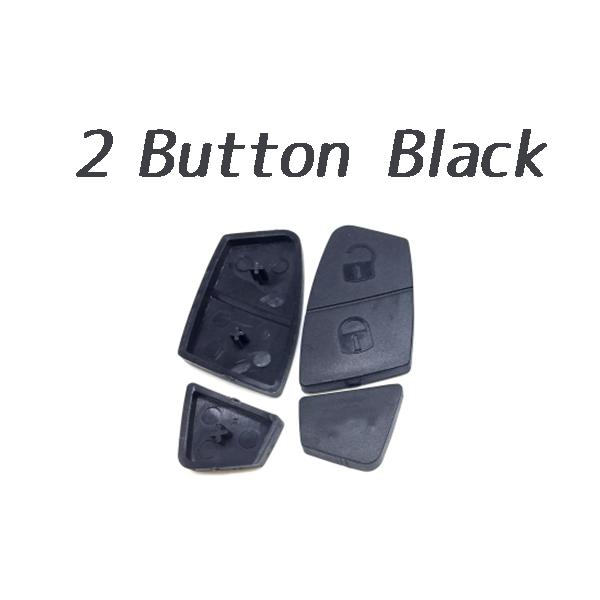 2 Button Rubber Pad Black Color for Fiat 10 pcs