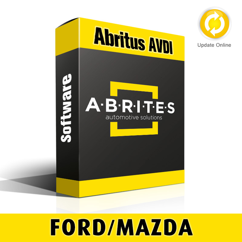Ford/Mazda and Jaguar/Land Rover Full Package Software for Abritus AVDI