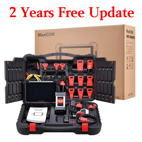 Autel MaxiCOM MK908P Full System Diagnostic Tool with J2534 ECU Programming Multi-Language - with 2 years free online update