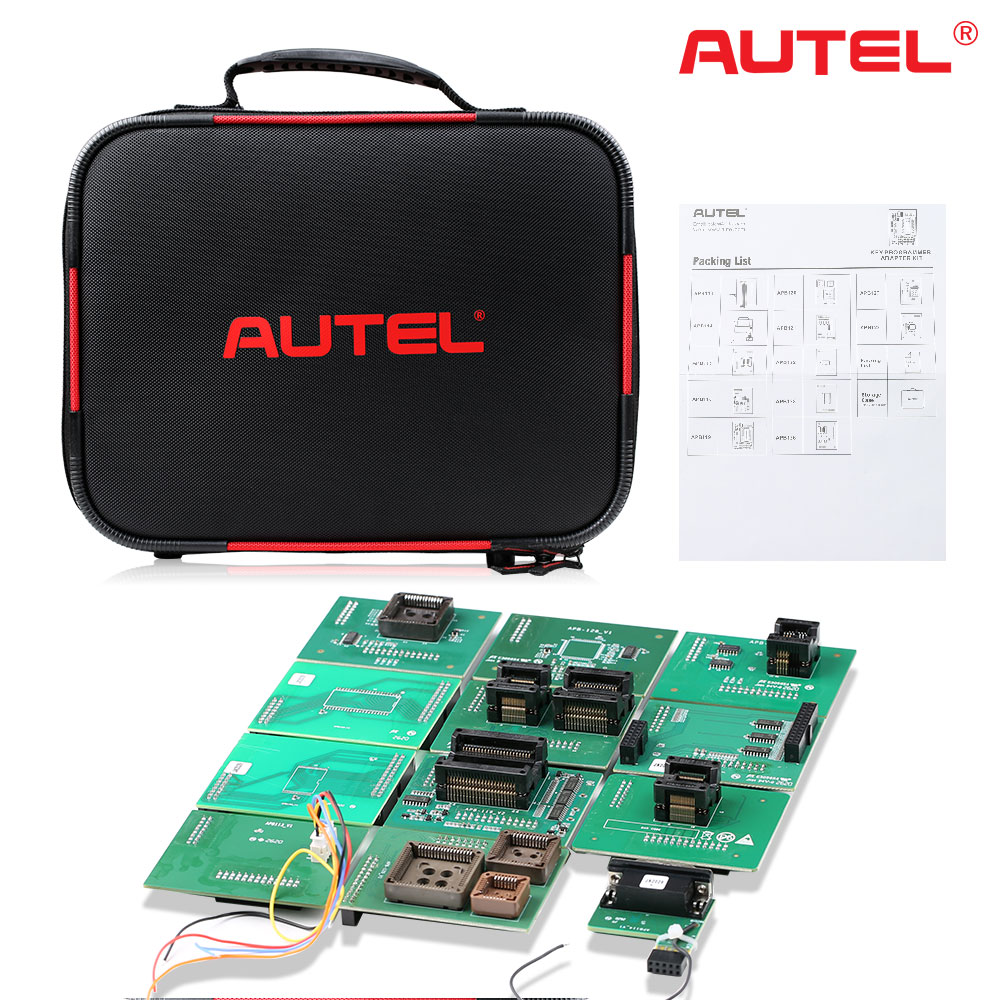 Original Autel IMKPA Expanded Key Programming Accessories Kit Work With XP400 PRO / IM608 Pro