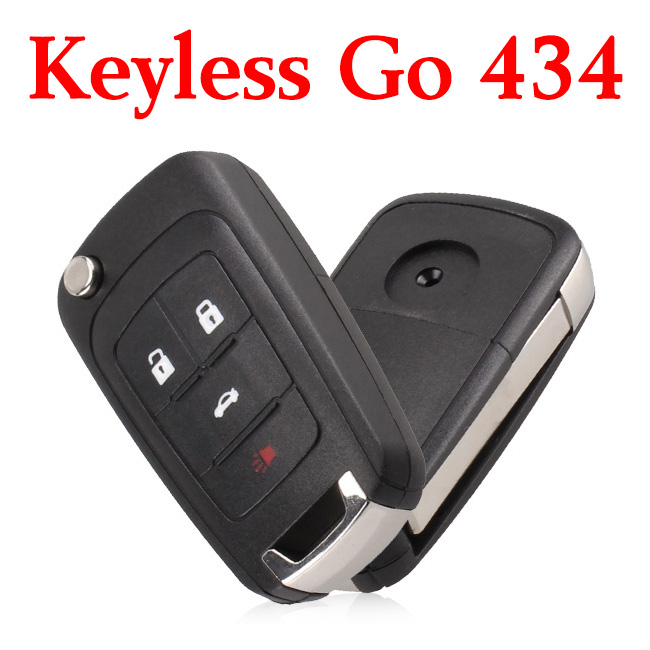 Original 3+1 Buttons 434 MHz Flip Smart Proximity Key for Buick
