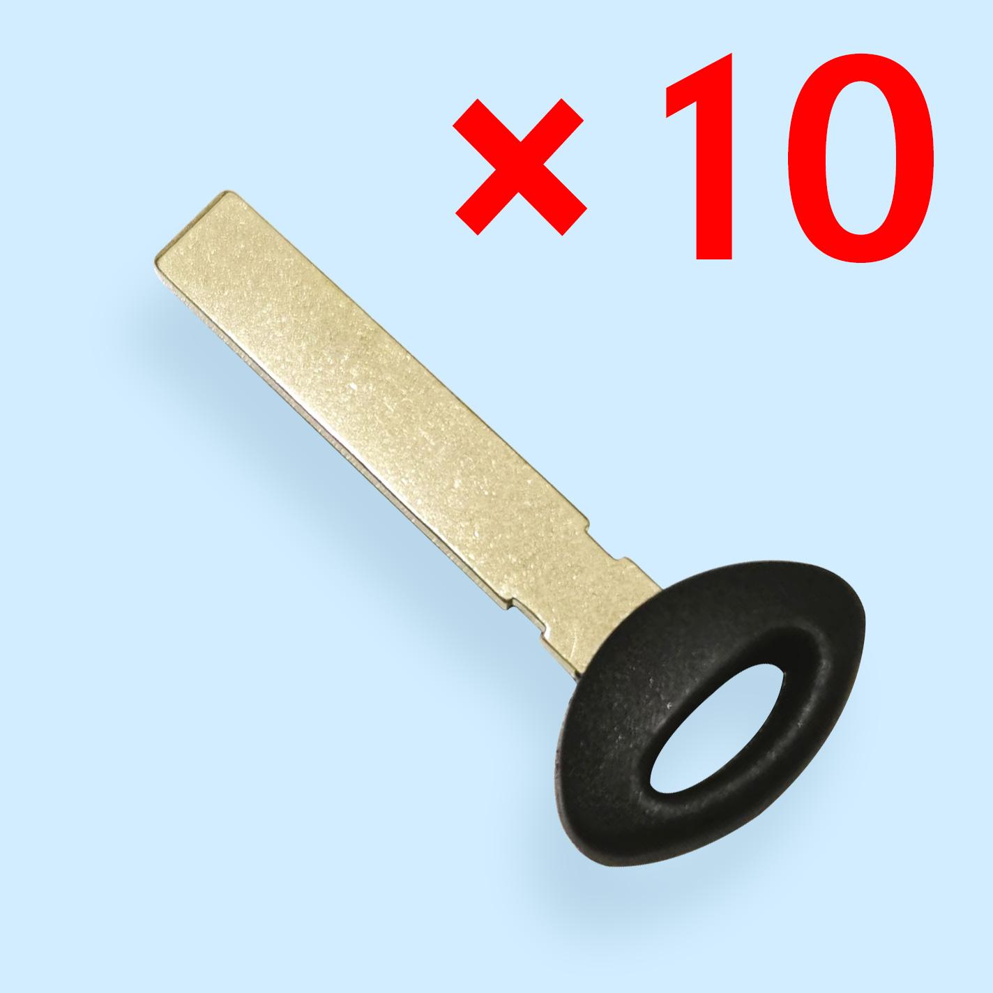 Smart Emergency Key Blade for Mini Cooper  -  Pack of 10
