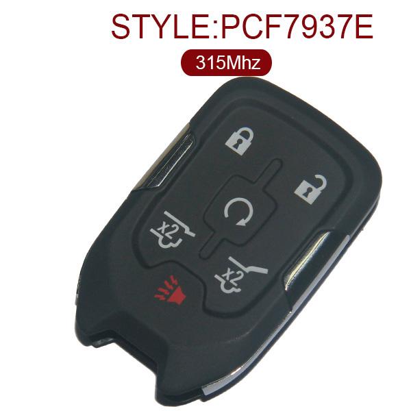 AK019020 for GMC Smart Remote Key 5+1 Button 315MHz PCF7937E FCCID HYQ1AA 13508280