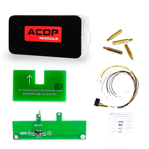 Yanhua Mini ACDP Module 3 BMW ISN Module Read & Write BMW DME ISN Code by OBD All Key Lost with License A50B A50D A50E