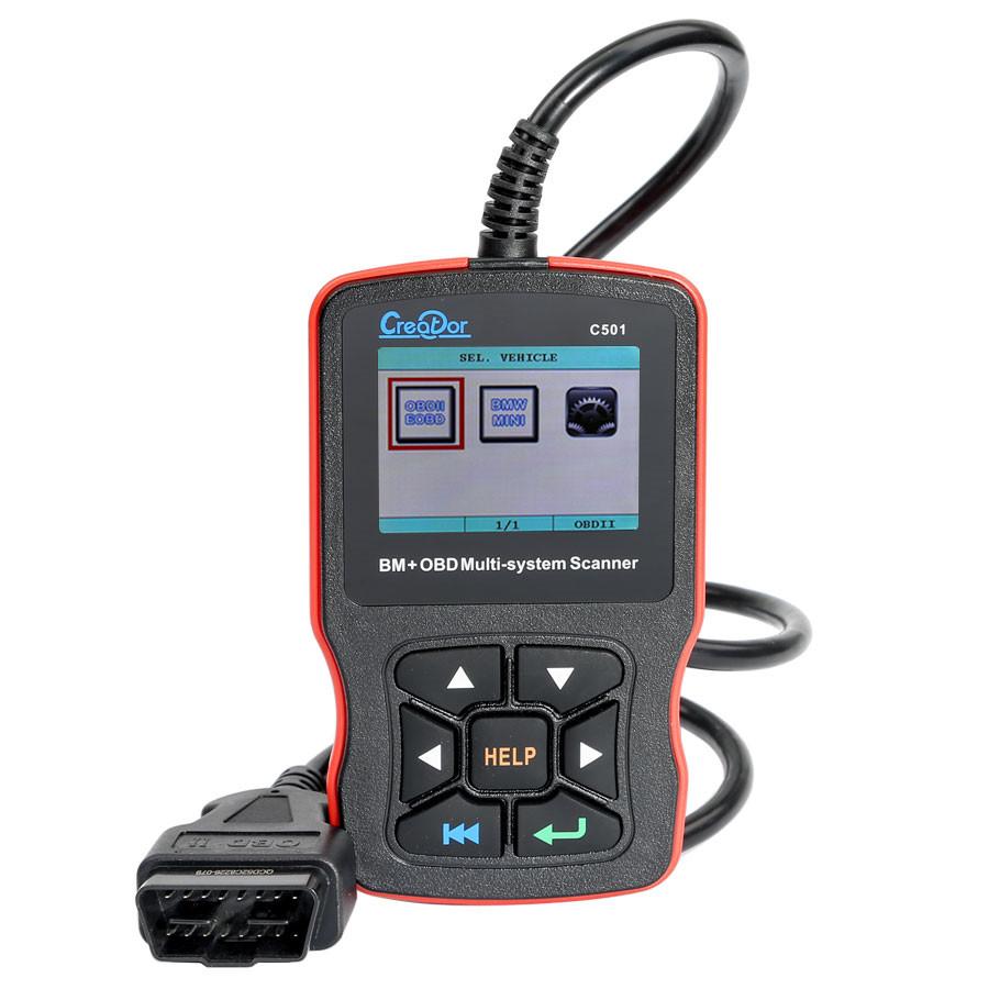 Creator C501 BMW & OBDII/EOBD Multi-System Scanner