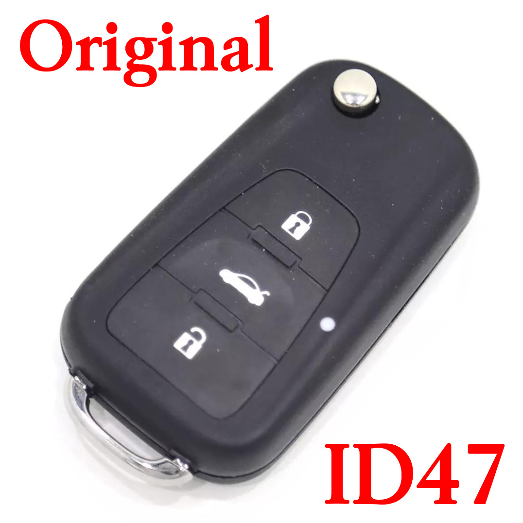 3 Buttons 433 MHz Original Smart Proximity Key for MG - ID47