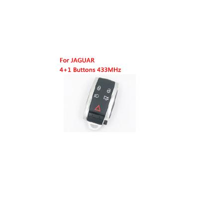 Remote Control Key for Jaguar smart card 433 MHz 5 Buttons