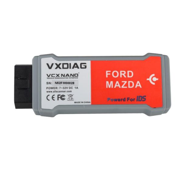 VXDIAG VCX NANO for Ford Mazda 2 in 1 with IDS V108
