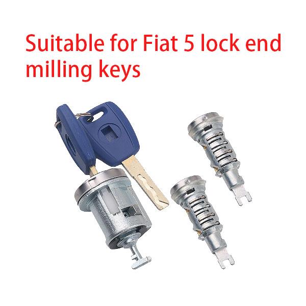 Suitable for Fiat 3 lock end milling keys
