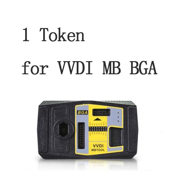 1 Token For Xhorse VVDI MB BGA Tool