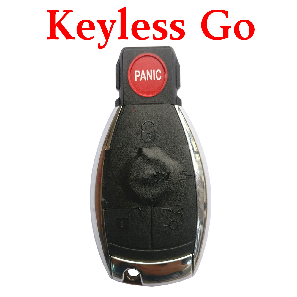 Original 315 Mhz 3+1 Buttons NEC Keyless Go Proximity Key for Mercedes Benz