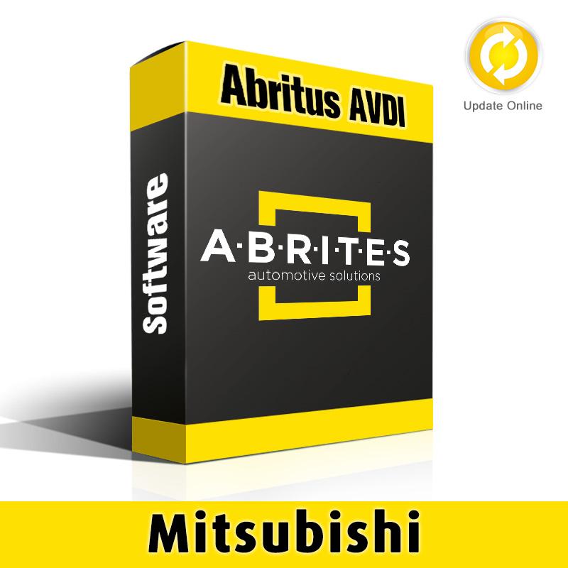 MI006 Mitsubishi PIN and Key Manger Software for Abritus AVDI