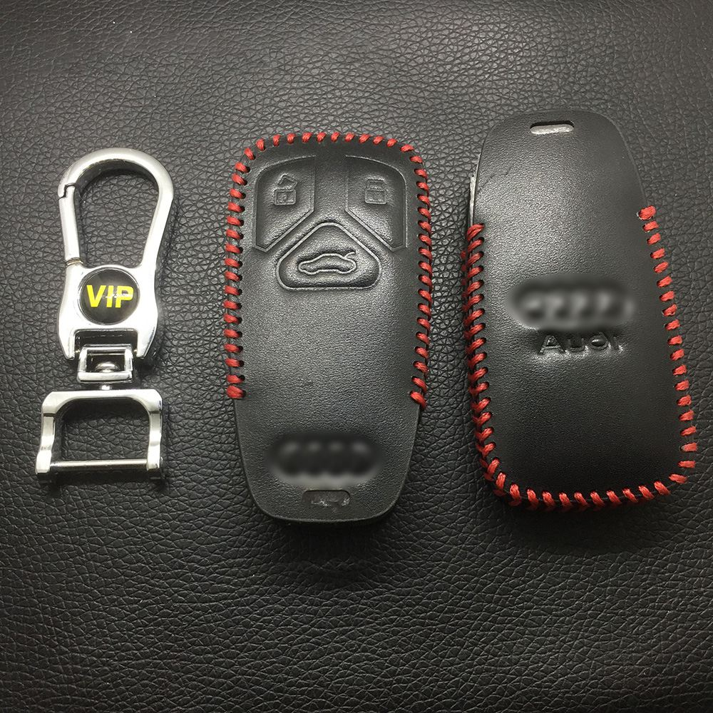 Leather Case for Audi New Smart Card Car Key - 5 Sets