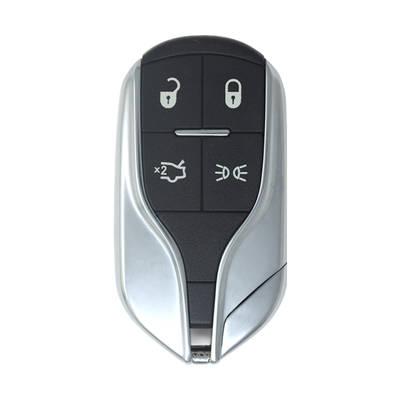 Original 4 Buttons Chrome Smart Key Shell for Maserati