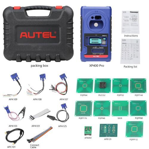 Original Autel MaxiIM IM508 Plus XP400 Pro with APB112 and G-BOX2 Full Kit Same IMMO Functions as Autel IM608PRO