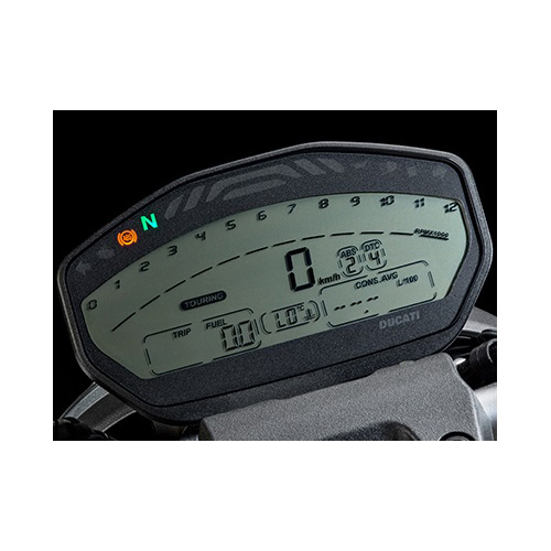 TMPro Software Module 192 for Ducati 821 Bike Dashboard MTA