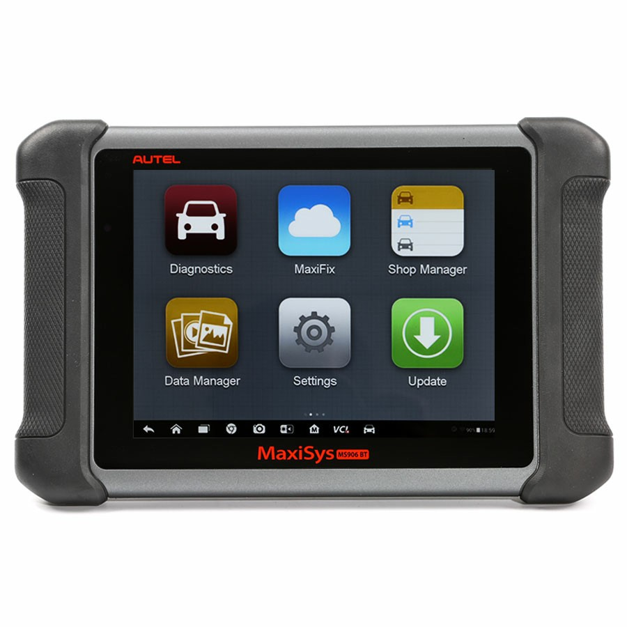 AUTEL MaxiSys MS906BT Advanced Wireless Diagnostic Devices with Android Operating System One Year Free Update Online