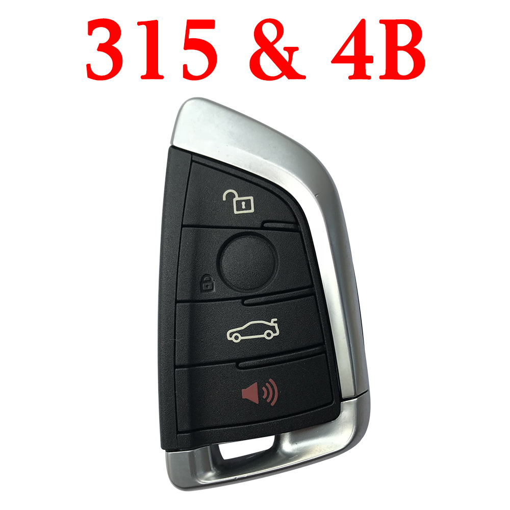 Smart Remote Key for BMW FEM - 4 Buttons 315 MHz