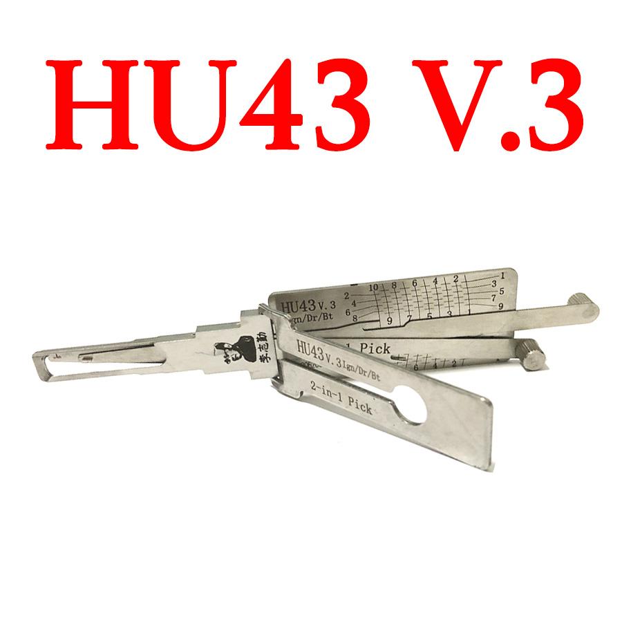 Original LISHI HU43 v.3 Ign/Dr/Bt Auto Pick and Decoder for Opel Vauxhall Holden Pontiac Chevrolet