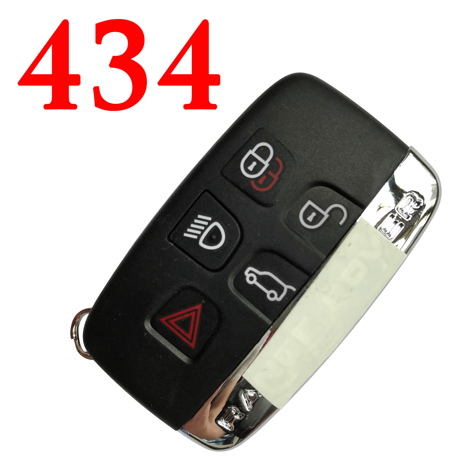5 Buttons 434 MHz Smart Proximity Key for 2011~2018 Range Rover